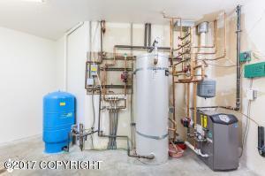 Spacious utility room