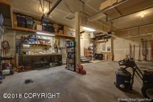 Spacious 3 car Heated Garage