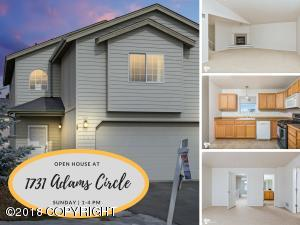 Property for sale at 1731 Adams Circle, Anchorage,  AK 99515