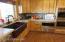 Copper sink in kitchen