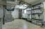 HVAC room with storage