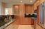 Custom Kitchen - Cherry Wood Cabinets