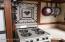 kitchen stove, tile
