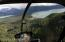 View from helicopter
