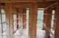 Inside fish house