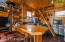 Guest kitchen and loft