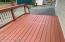 Back deck of office