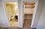 Downstairs Bath & Closet