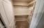 Downstairs Closet
