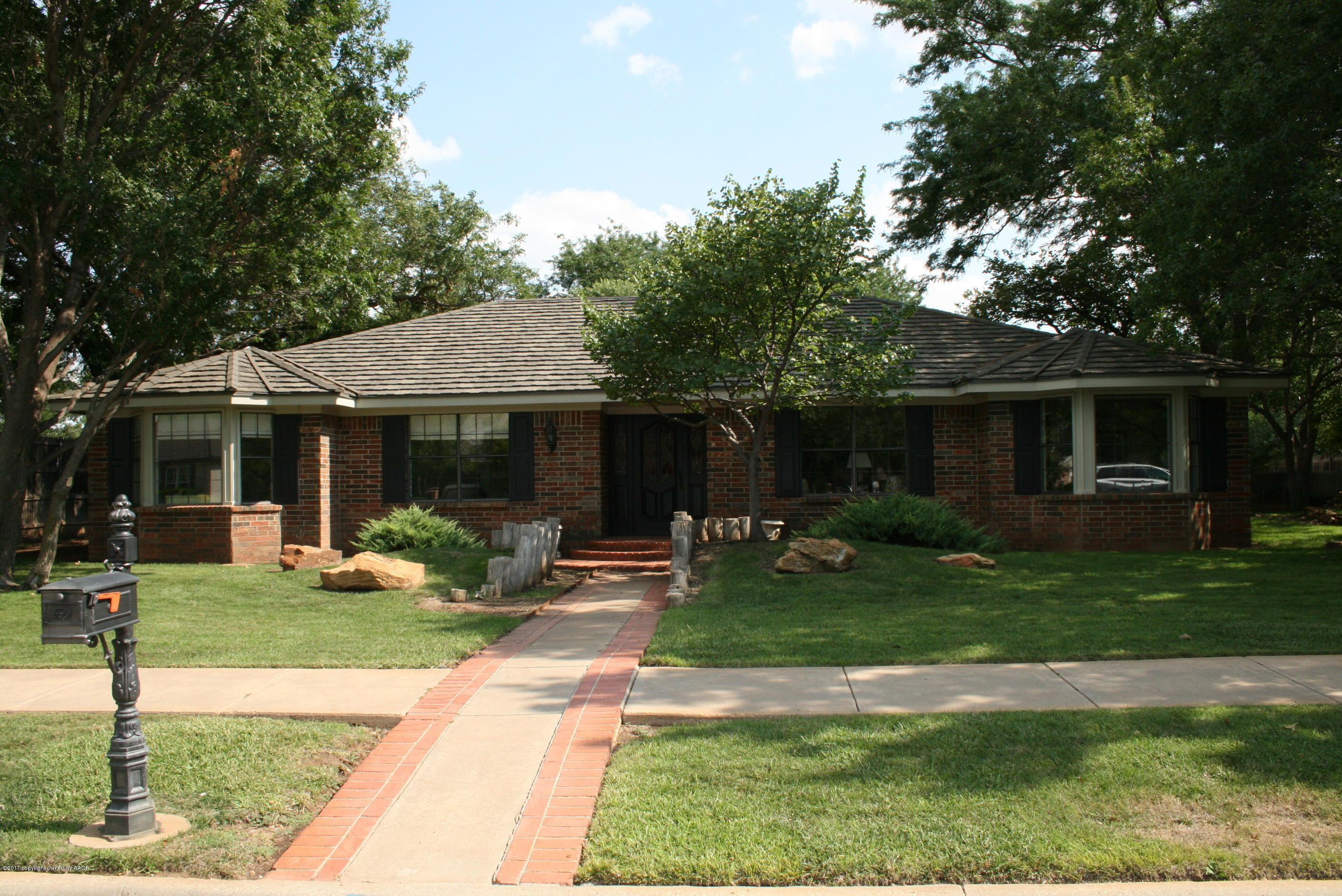 One of Amarillo 3 Bedroom Homes for Sale at 6603 Palacio Dr