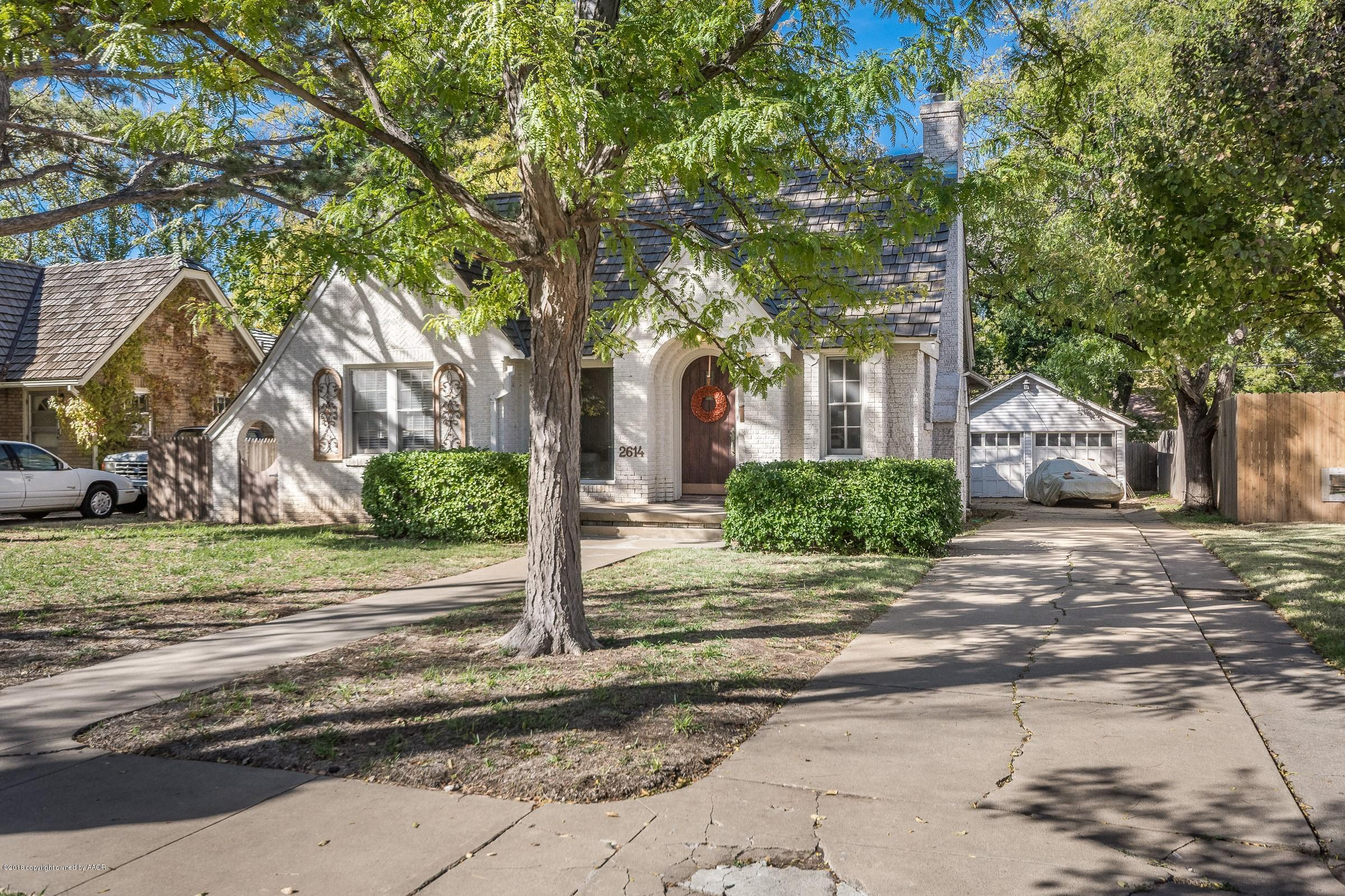 2614 ONG ST, Amarillo in Potter County, TX 79109 Home for Sale