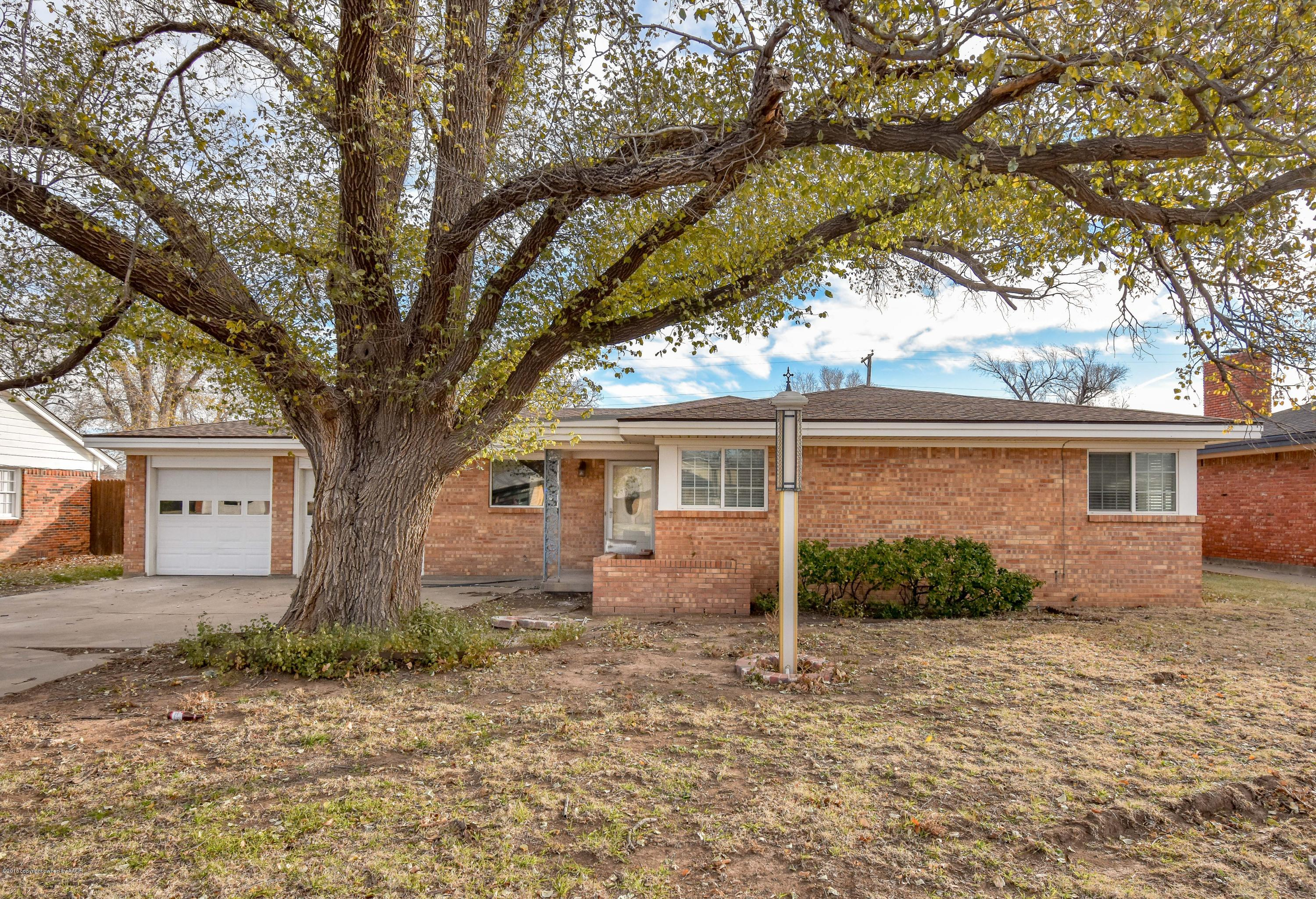 3409 PARAMOUNT BLVD, Amarillo in Randall County, TX 79109 Home for Sale