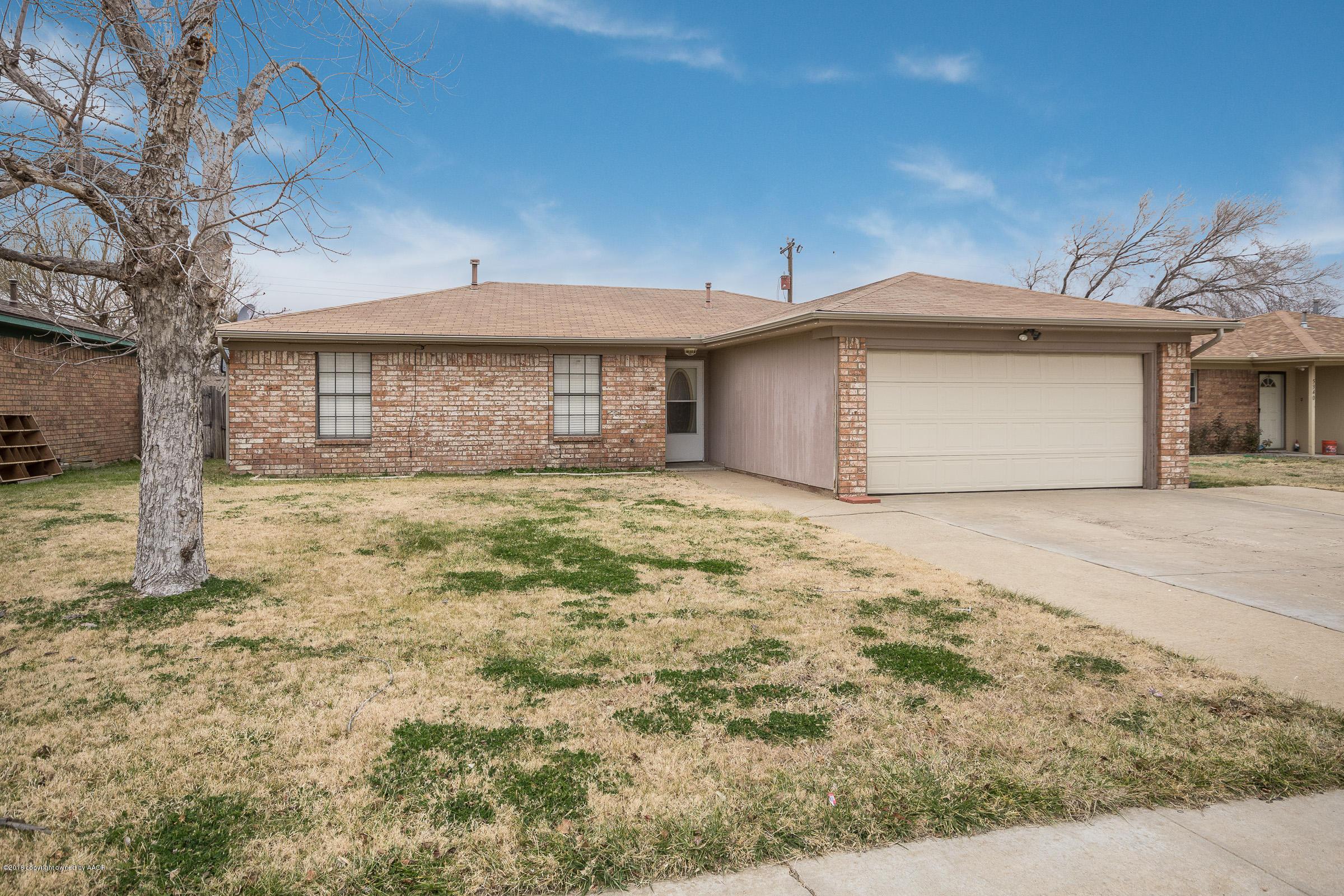 5344 CAPULIN LN, Amarillo, Texas