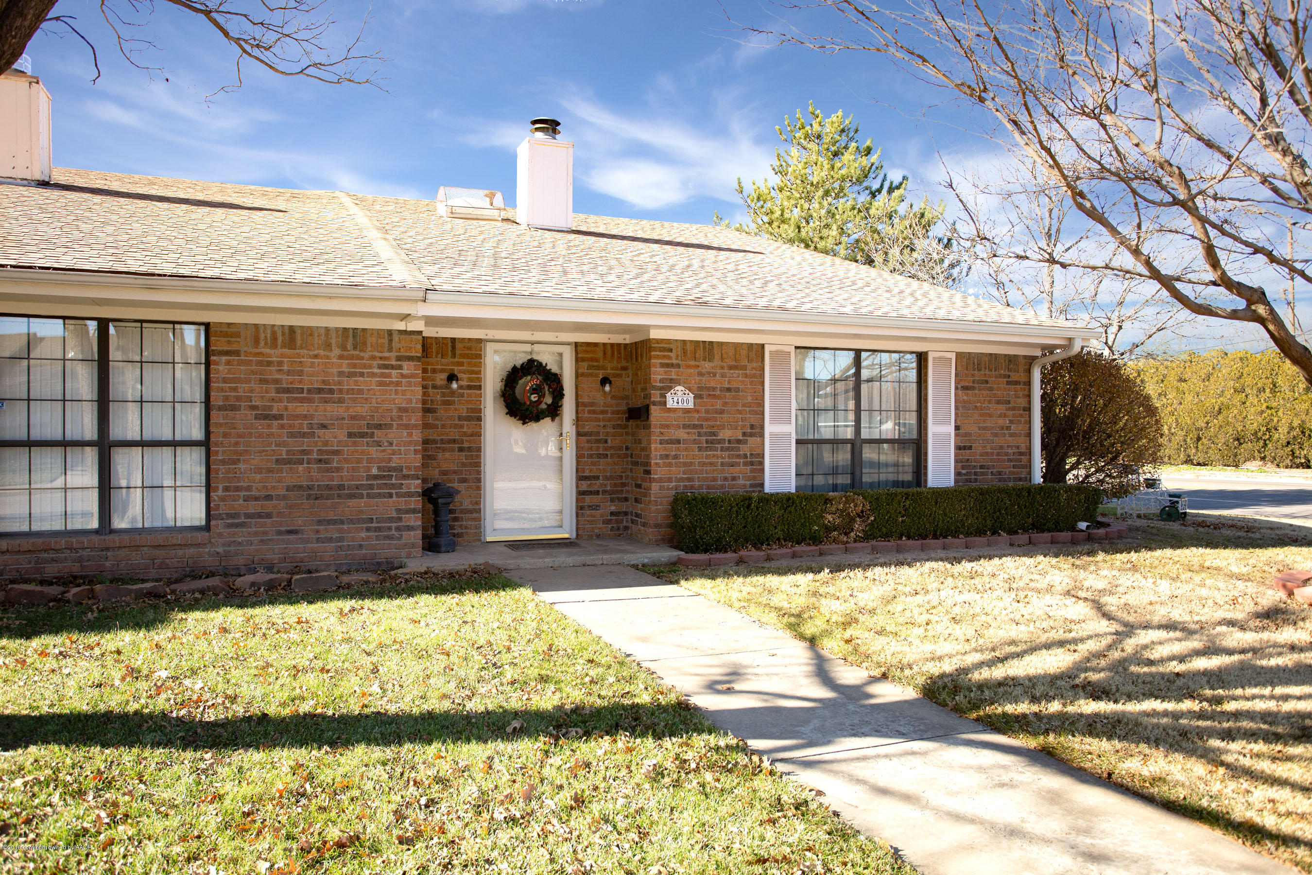 One of Amarillo 2 Bedroom Homes for Sale at 3400 GLADSTONE LN