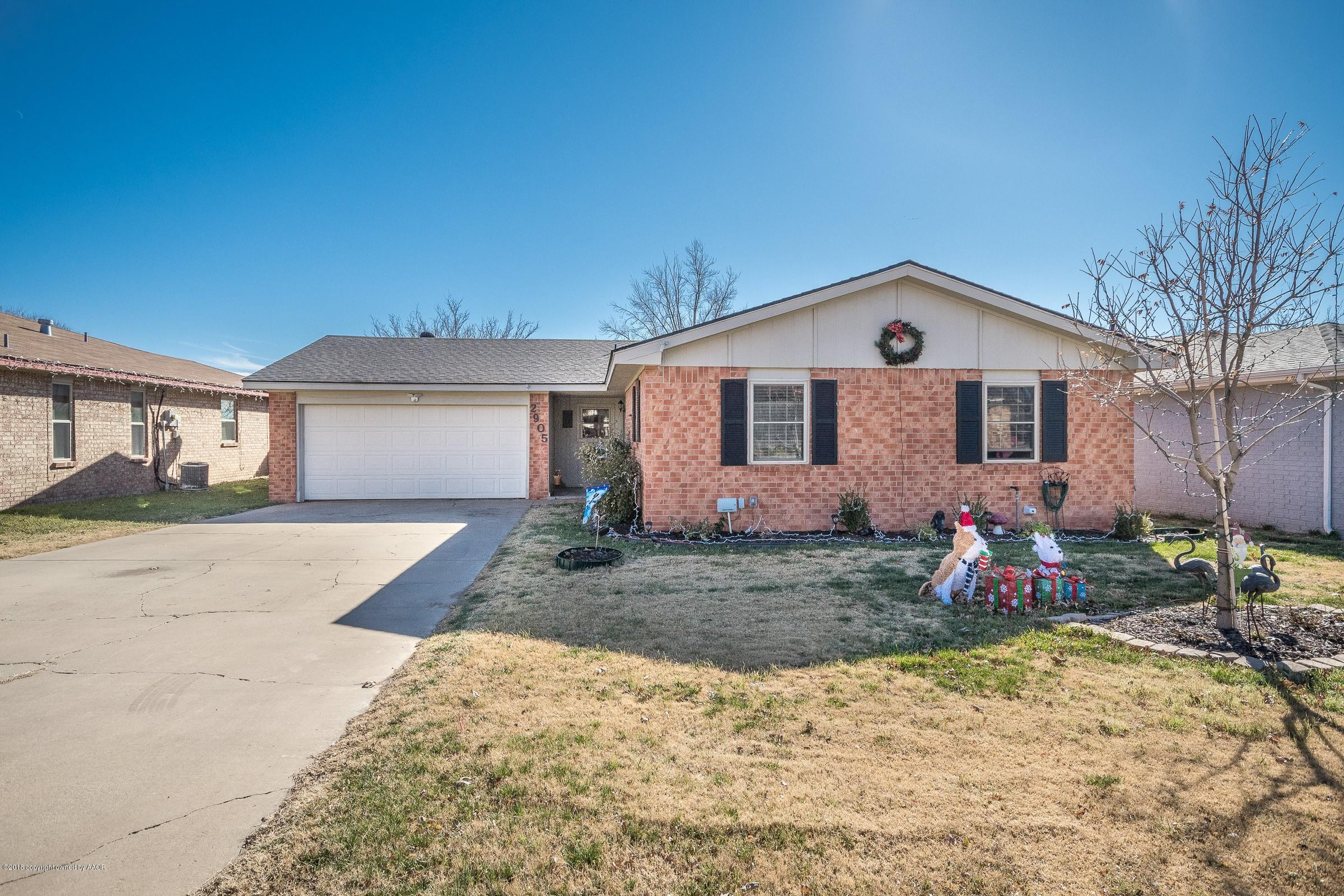 2905 SALEM DR, Amarillo in Randall County, TX 79110 Home for Sale