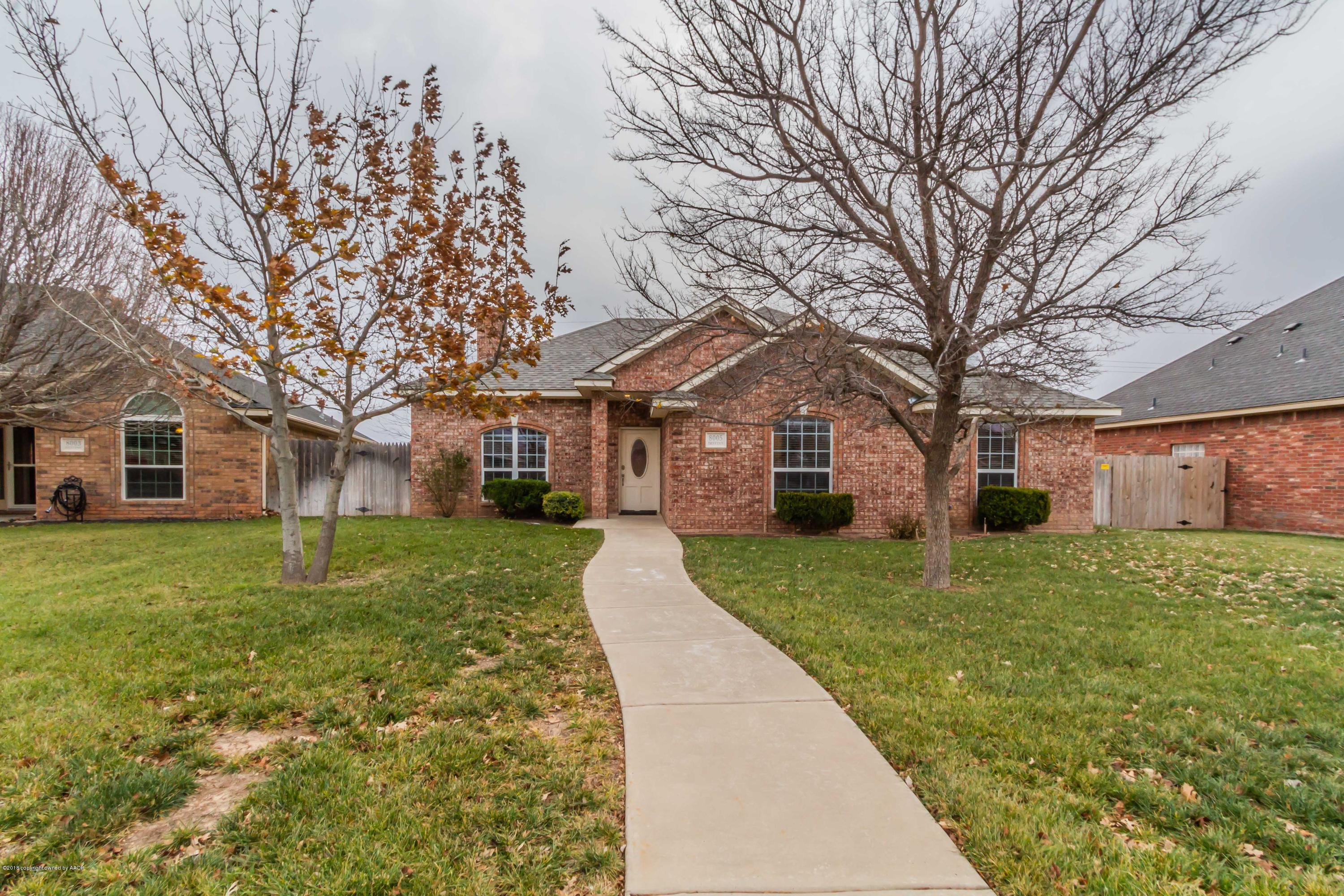 8005 DESTINY PL, Amarillo in Randall County, TX 79119 Home for Sale