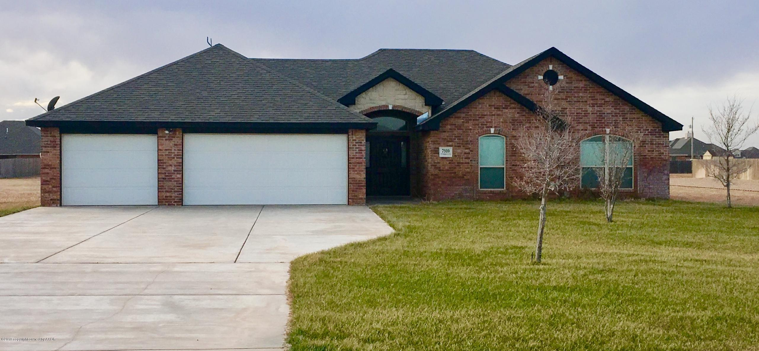 7910 CPT WOODROW CALL TRL, Amarillo in Randall County, TX 79118 Home for Sale