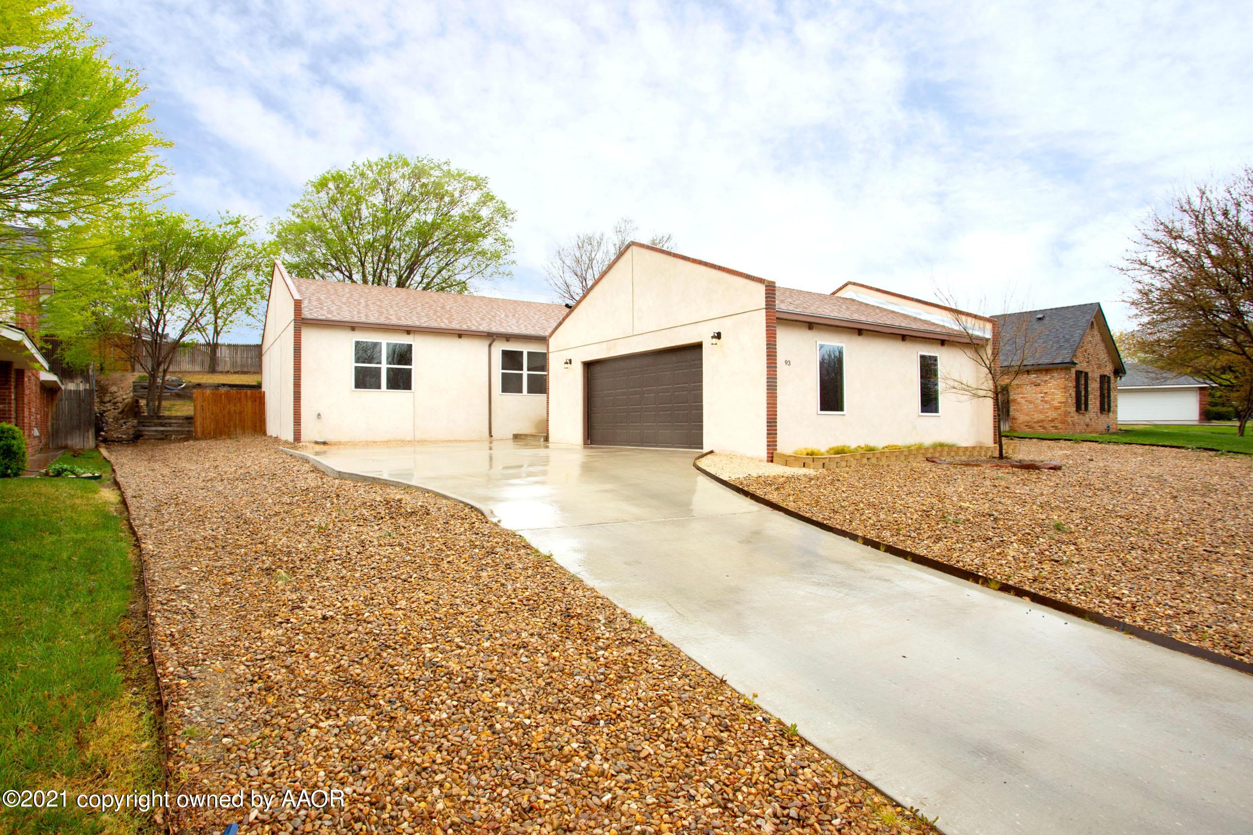 Photo of 93 HUNSLEY HILLS BLVD, Canyon, TX 79015
