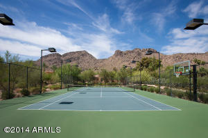26 - Tennis Court with Mountain Views