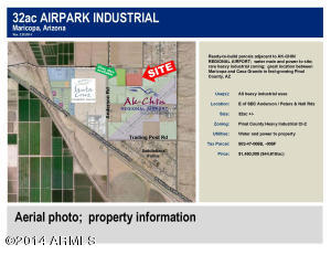 Property for sale at E of SEC Peters And Nall Road/ Anderson Road, Casa Grande,  Arizona 85193