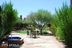 Lush Sonoran Landscaping at The Hacienda