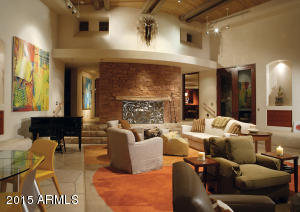 Spacious Living & Entertainment Room