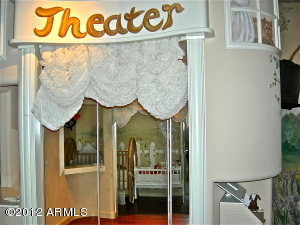 "Fun ""Theater"" in Children's Bedroom"