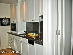 Mini-Galley in Bedroom Hall