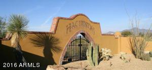 Haciendas Entrance at Desert Mountain
