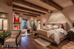 Master Bedroom Opens To View Patio