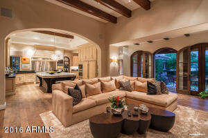 Comfortable, Open Family Room