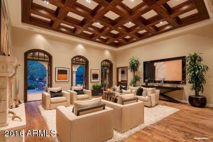 Grand Open Contemporary Living Room