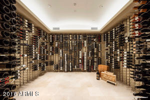 Dramatic 3000 Bottle Chilled Wine Room