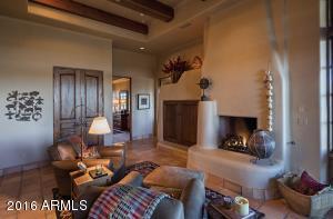 Guest Enclave Fireplace