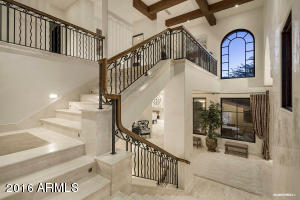 Grand Entry Foyer Stairway