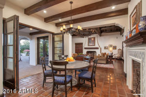 Breakfast Room Opens To Family Room