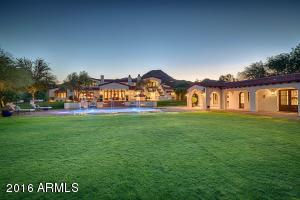 Expansive Back Lawn