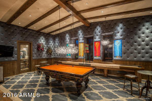 Guest quarters game room/wine room