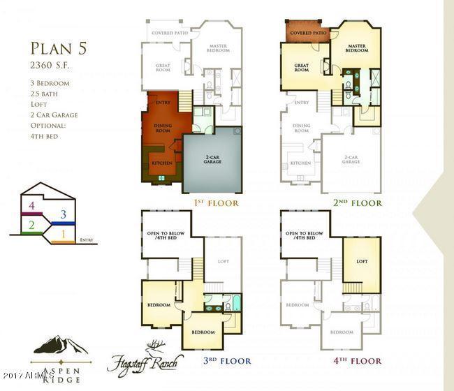 MLS 5577001 4420 W Arabian Trail, Flagstaff, AZ Flagstaff AZ Adult Community