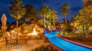 Lazy River Firepit & 30 Foot Waterslide