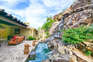 19 BACK PATIO WATERFALL