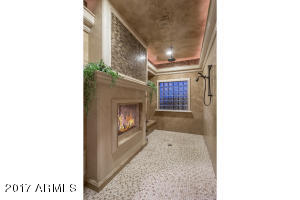 28 SHOWER WITH FIREPLACE