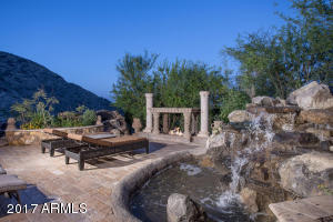38 PATIO AND WATER FEATURE