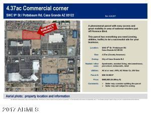 Property for sale at 00 N Pottebaum Road, Casa Grande,  Arizona 85122