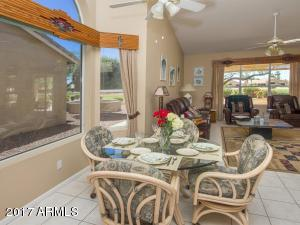 Casual Dining into Family Room