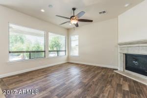 Lots of light in family room!