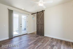 Flex room Barn door