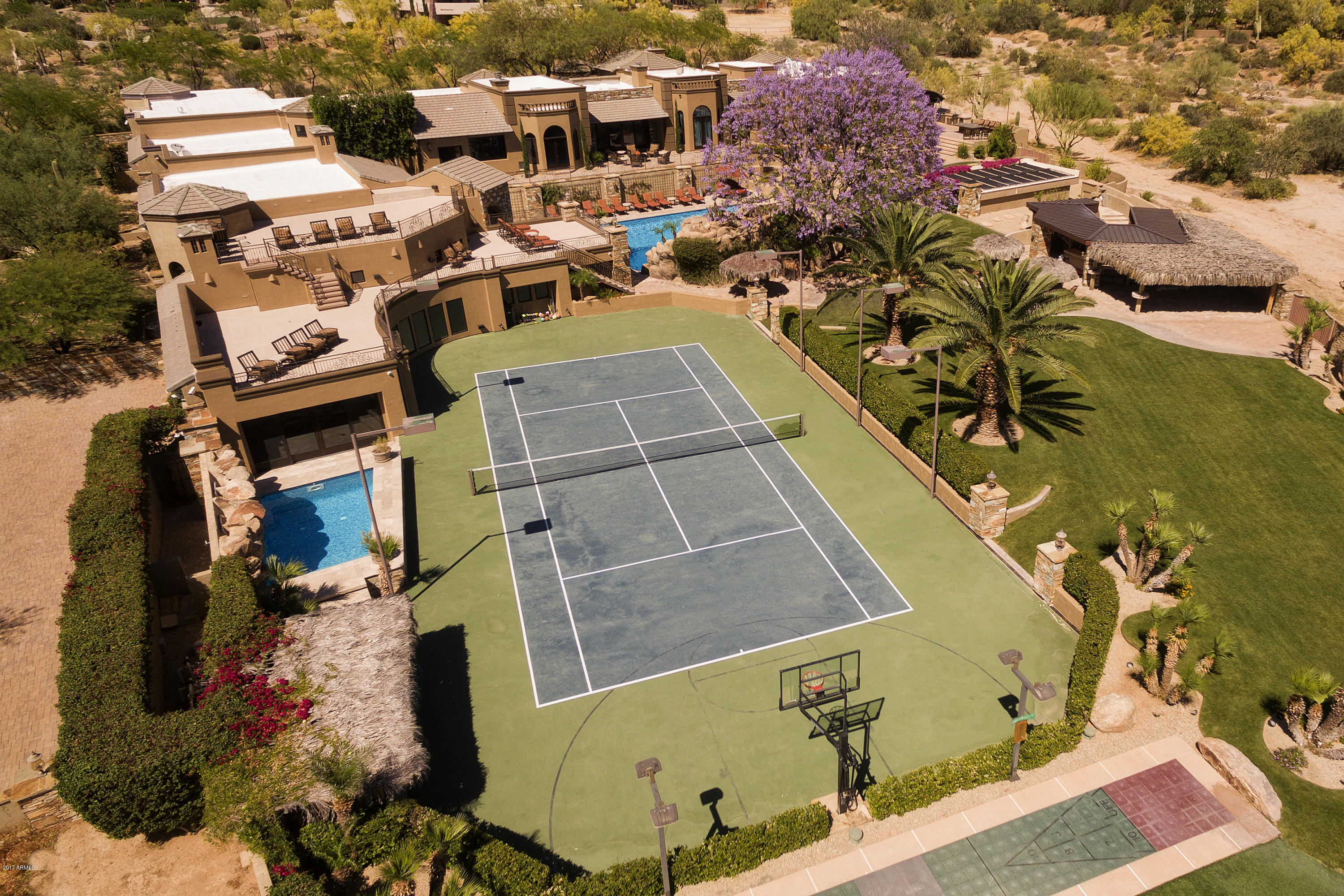 MLS 5617332 23035 N Church Road, Scottsdale, AZ 85255 Scottsdale AZ Tennis Court