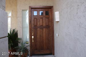 Upgraded 8 foot entry door