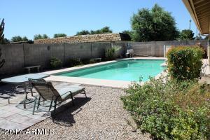 Pool yard view 3